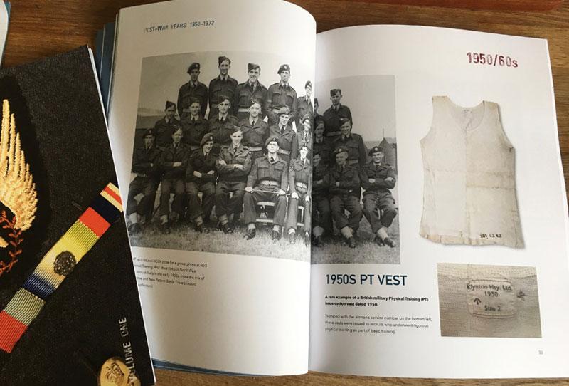 RAF Uniforms book spread
